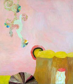 Tidigare verk2, måleri av Susanna Nygren, Olja på duk 2, 95X110cm