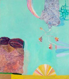 Tidigare verk 2, måleri av Susanna Nygren, Olja på duk 5, 95X110cm