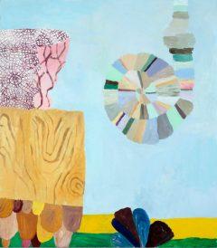 Tidigare verk 2, måleri av Susanna Nygren, Olja på duk 3, 95X110cm