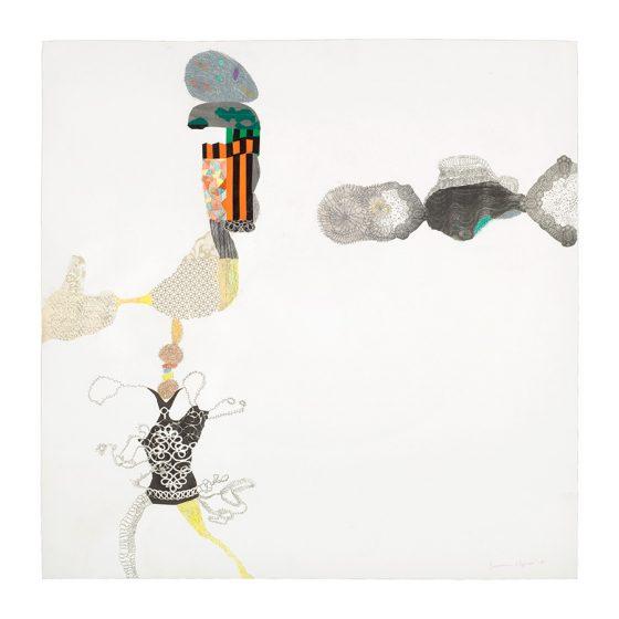 Susanna Nygren, teckning, 2010