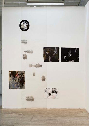 Teckningsinstallation, av Susanna Nygren, 2011, Studio44, Sthlm