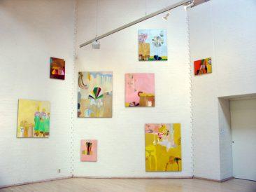 Susanna Nygren, utställningsvy från Simrishamns konsthall, 2008