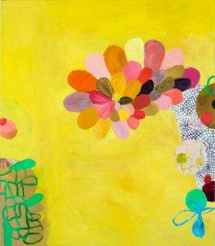 Tidigare verk 2, måleri av Susanna Nygren, Olja på duk, 95X110cm