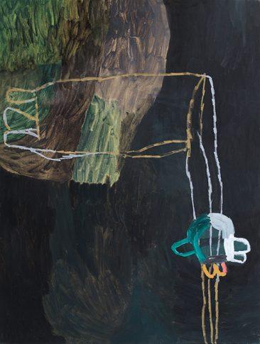 Måleri, Susanna Nygren, olja på duk-2, 2008, 110x145cm