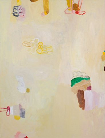 Måleri, Susanna Nygren, olja på duk-4, 2004, 110x145cm