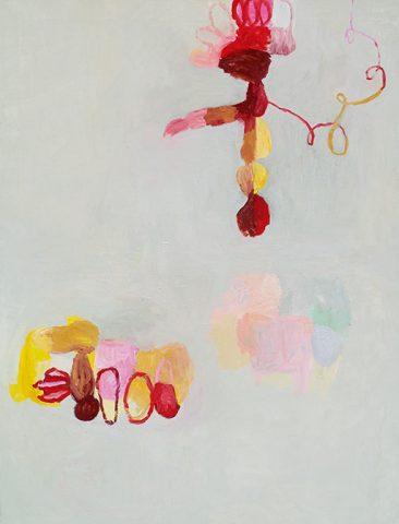 Måleri, Susanna Nygren, Olja på duk 6, 2004, 110x145