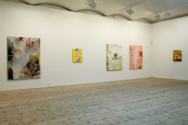 Susanna Nygren, utställningsvy. Uppsala Konstmuseum, 2007
